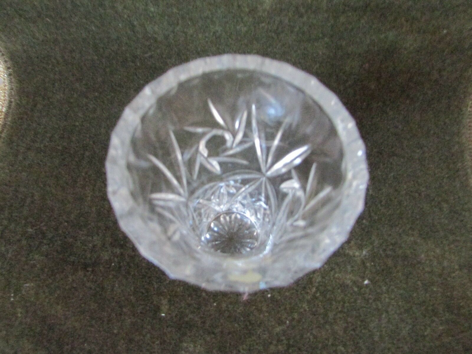 """LENOX CRYSTAL BUD VASE MADE IN CZECH REPUBLIC 4"""" UNUSED WITH STICKER"""