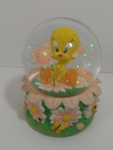 GOEBEL TWEETY BIRD MUSICAL SNOW GLOBE SAN FRANCISCO MUSIC BOX 2000 WARNE... - $54.40