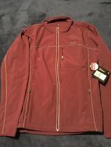 Men's Full Zip Adventure Jacket Fila Large L Wine Red NEW W/Tags MSRP $100 - $40.50