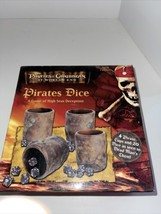 Disney Pirates Of The Caribbean Dead Man's Chest Pirates Dice Game Complete - $34.65