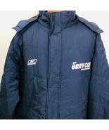 Reebok On Field CFL Winnipeg Grey Cup Puffer Winter Coat Parka 2XL HoodNew  - $128.69