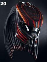 Predator Motorcycle Helmet Aksara (Dot / Ece Certified) - $355.00