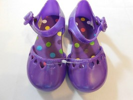 The Children's Place Girl's Youth Sandals Purple Size Variations Hearts NWOT - $13.49