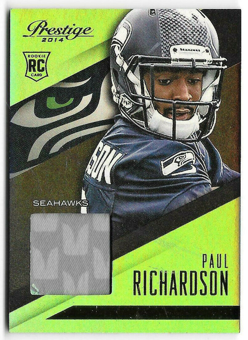 Primary image for 2014 Paul Richardson Panini Prestige Draft Picks Rookie Patch - Seattle Seahawks