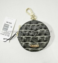 NWT Brahmin Embossed Leather Circle Coin Purse in Serpentine Melbourne - $55.00