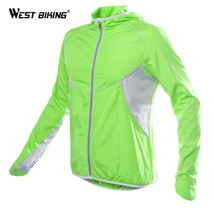 WEST BIKING Quick-dry Cycling Jersey Ropa Ciclismo Wind Windproof Windcoat Bicyc - $38.40