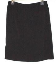 Talbots Black Wrap Stretch Skirt Size 8 - $8.00