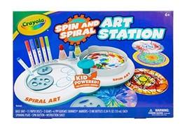Crayola Spin & Spiral Art Station, DIY Crafts, Toys for Boys & Girls, - $43.30
