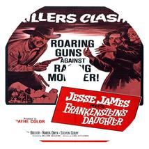 Jesse James Meets Frankenstein's Daughter (1966) Classic Horror Movie DVD - $4.99