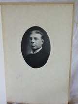 Vintage Portrait Photo of Distinguished Man in Glasses 1900s ~ Fashion - $4.00