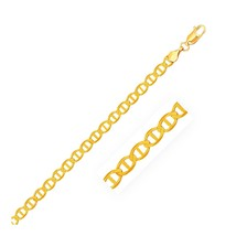 4.5mm 14k Yellow Gold Mariner Link Bracelet - $249.58+