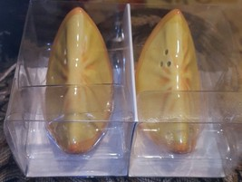 Orange Slice Salt & Pepper Shakers New Ceramic - €7,33 EUR