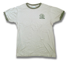 MOOSEHEAD LAGER - BEER, ALE, DRAUGHT CLASSIC LOGO T-SHIRT / SIZE M-L - $9.20
