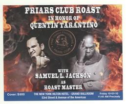 Quentin Tarantino Roast, Samuel L Jackson NYC host! UNBELIEVABLE Lineup!! - $5.93