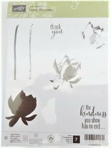 "Stampin' Up ""Lotus Blossom"" Stamp Set #139143"