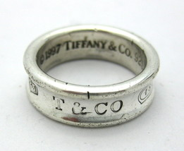 Tiffany & co Unisex .925 Silver Wedding band - $79.00