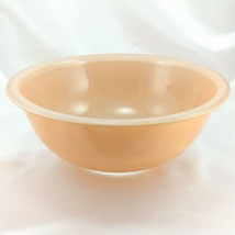 Pyrex 325 Clear Bottom Bowl Beige & Tan Vintage 2½ qt Serving Made in th... - $21.95