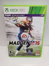 EA Sports Madden 15 for XBox 360 - No Manual - $6.58
