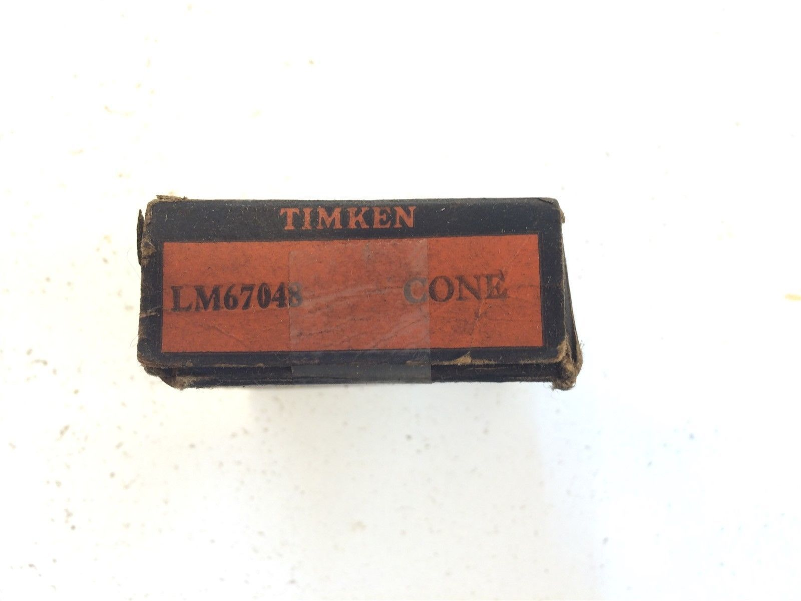 Vintage Timken Tapered Roller Bearings LM67048 Cone Made in USA