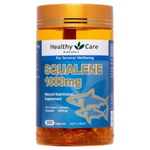 Healthy Care Squalene 1000mg 200 Capsules - $143.60