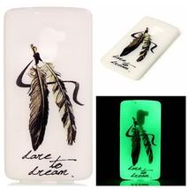 Luminous TPU Phone Case for Lenovo Vibe K4 Note/Vibe X3 Lite - Feather - $2.34