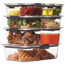 Rubbermaid Brilliance 18-piece Food Storage Set,Stain & Odor Resistant F... - €29,50 EUR
