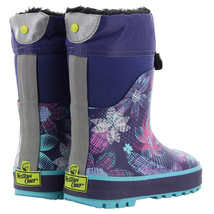 Western Chief Kids' Neoprene Boot, Purple NEW Without Box image 3