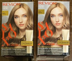 (2) Revlon Salon Color #7 Dark Blonde Color Booster Kit For Week 3 And 6 - $24.74