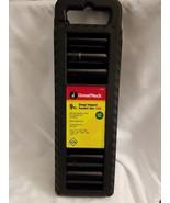 "Greatneck 9pc Deep Impact Socket Set 1/2"" Drive, SAE,  1/2"" to 1"" CR-V S... - $22.72"