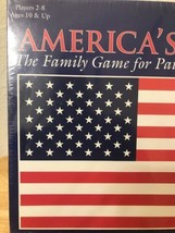 AMERICA'S SPIRIT FAMILY GAME FOR PATRIOTIC AMERICANS 2001 ARE YOU GAME  ... - $50.51