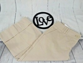 Ann Taylor Loft Marisa Womens Capri Size 2 Khak... - $15.76