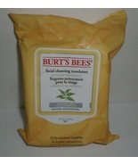 Burt's Bees Facial Cleansing Towelettes White Tea Extract Normal Skin 30... - $21.03