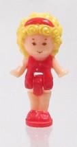 1989 Vintage Polly Pocket Dolls Beach House - Polly Bluebird Toys - $7.50