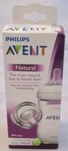 Philips Avent Natural Baby Bottle 9oz Comfort Petal Nipples No exp 1 m+ - $9.89