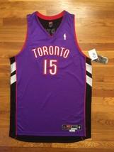 BNWT NWT 2000-01 Nike Toronto Raptors Vince Carter Road Pro Cut Jersey 5... - $999.99