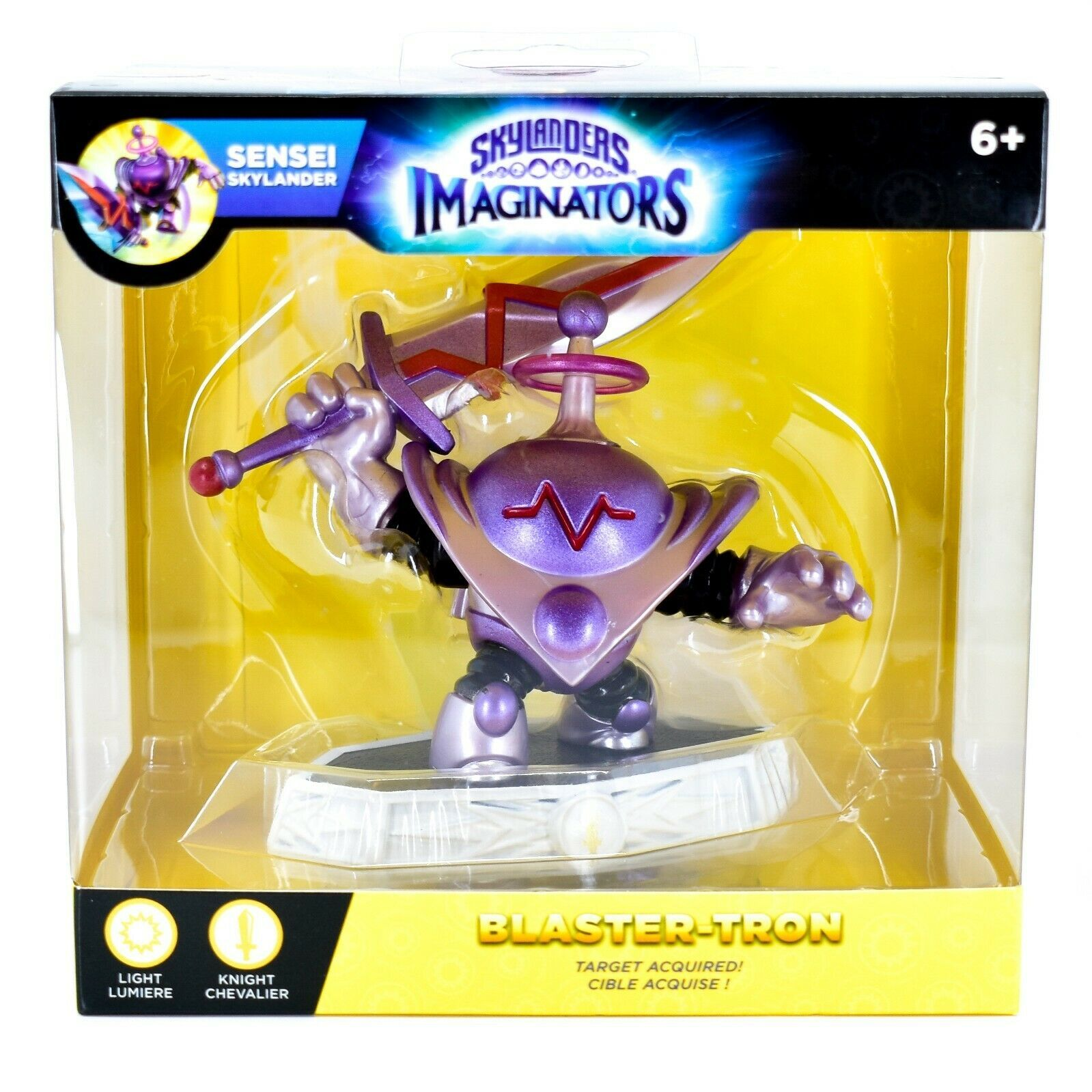Skylanders Imaginators Light Knight Sensei Skylander Blaster-Tron Action Figure