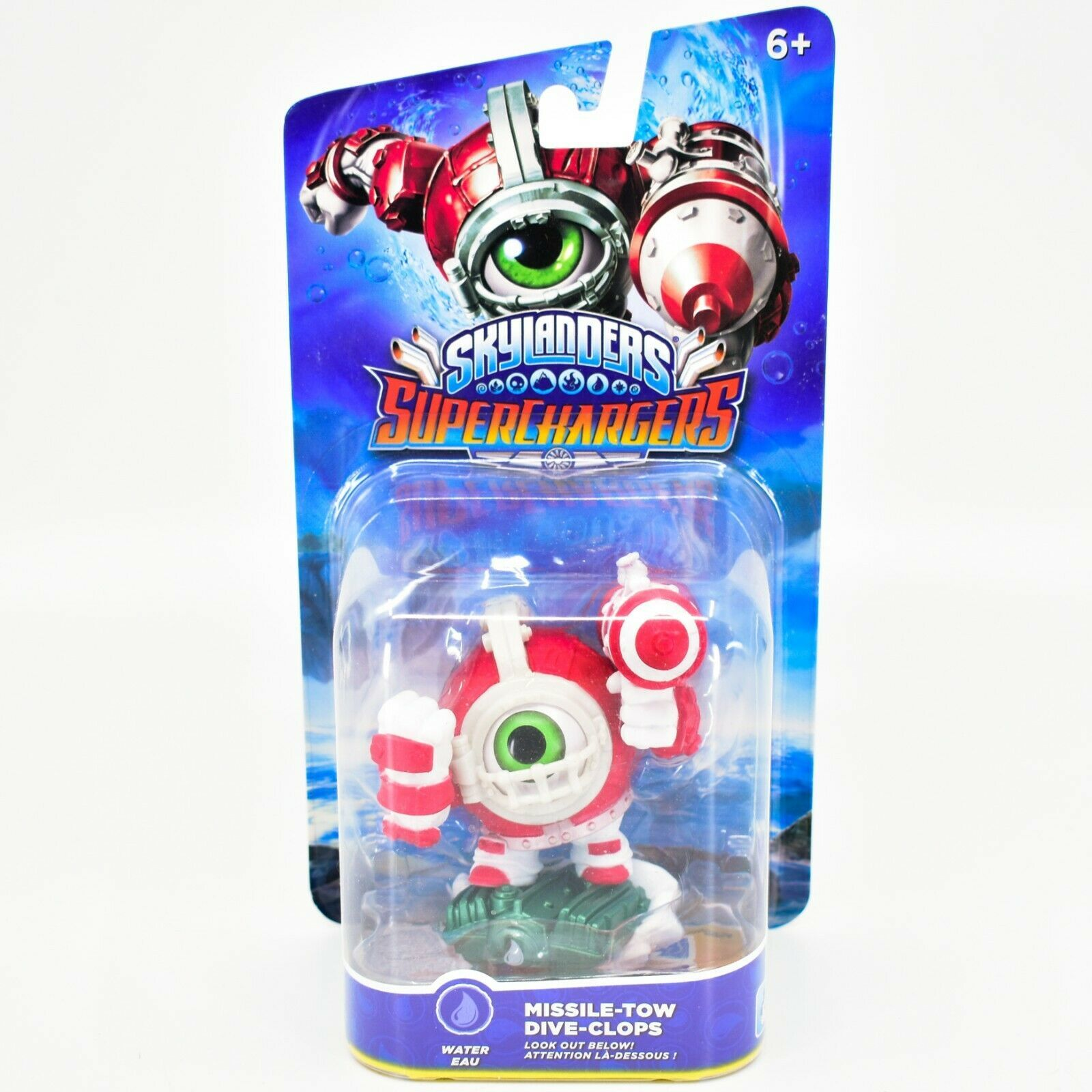 Activision Skylanders Superchargers Missile-Tow Dive-Clops Water Character