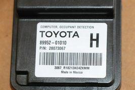 Toyota Frnt Passenger Seat Occupant Detection Sensor Module Computer 89952-01010 image 3