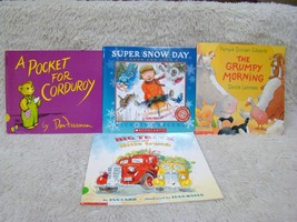 Lot of 4 Scholastic/Other Paperback Books, Early Reading Little Boy Them... - $8.01