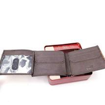 Levi's Men's RFID Blocking Two Tone Bifold ID Logo Brown Wallet 31LV240017 image 5