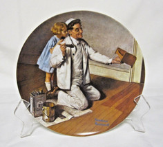 """The Painter by Norman Rockwell Heritage Collector Plate By Knowles 8 1/2"""" - $4.99"""