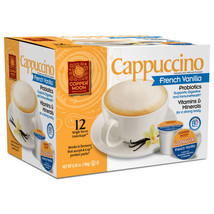 Copper Moon French Vanilla Cappuccino 12 to 72 Keurig K cups Pick Any Size - $19.98+