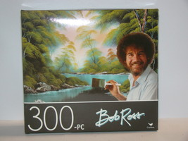 "Cardinal - Bob Ross ""Deep Forest Lake"" 300-Piece Puzzle (New) - $18.00"