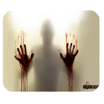 Mouse Pad The Walking Dead Movie Zombie Hands In Scary Design Animation ... - €5,28 EUR