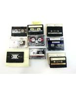 Blank Cassette Tape Lot of 9 Maxell TDK Sony High Bias - $57.97