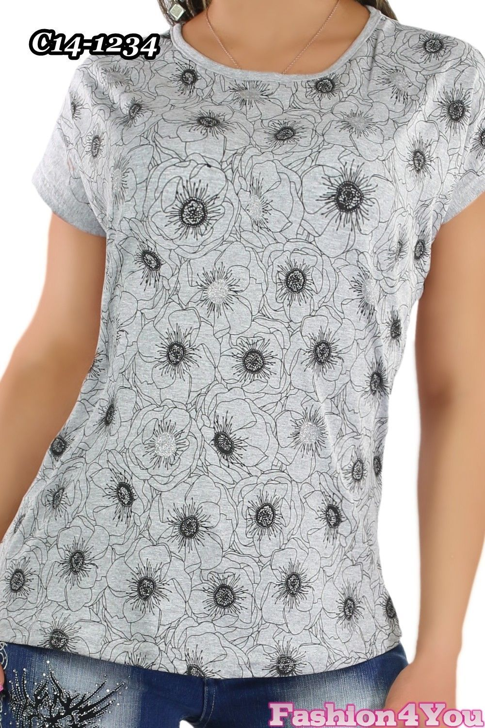 Women's Top Ladies Summer Holiday Casual Tunic Top T-Shirt Size 10,12,14 UK