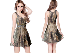 EVERGREY BAND  WOMENS REVERSIBLE SLEEVELESS SHORT MINI DRESS - $17.99+