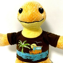 """Build A Bear Sea Turtle Yellow Retired 17"""" 2012 Removable Green Shell  - $24.26"""