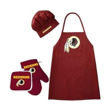 NFL Washington Redskins Barbeque Apron, Chef's Hat and Pot Holder Deluxe Set - $30.99