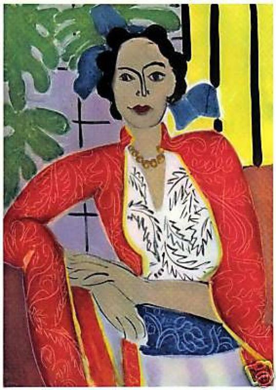 MATISSE 1939 LITHOGRAPH w/COA. stunning find! Unique Henri Matisse VERY RARE ART